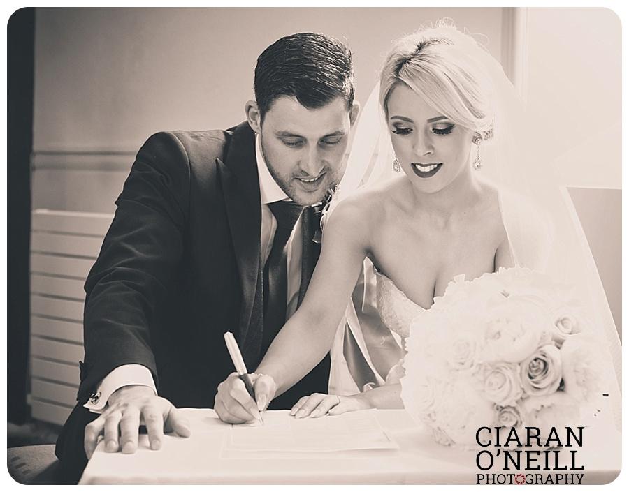 Kelly & Aodhan's wedding at Ballymagarvey Village by Ciaran O'Neill Photography 11