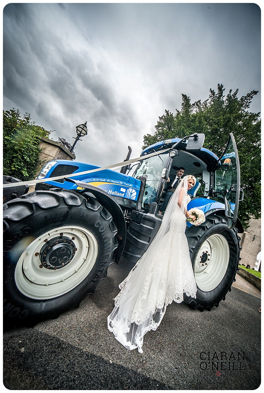 Kelly & Aodhan's wedding at Ballymagarvey Village by Ciaran O'Neill Photography 13