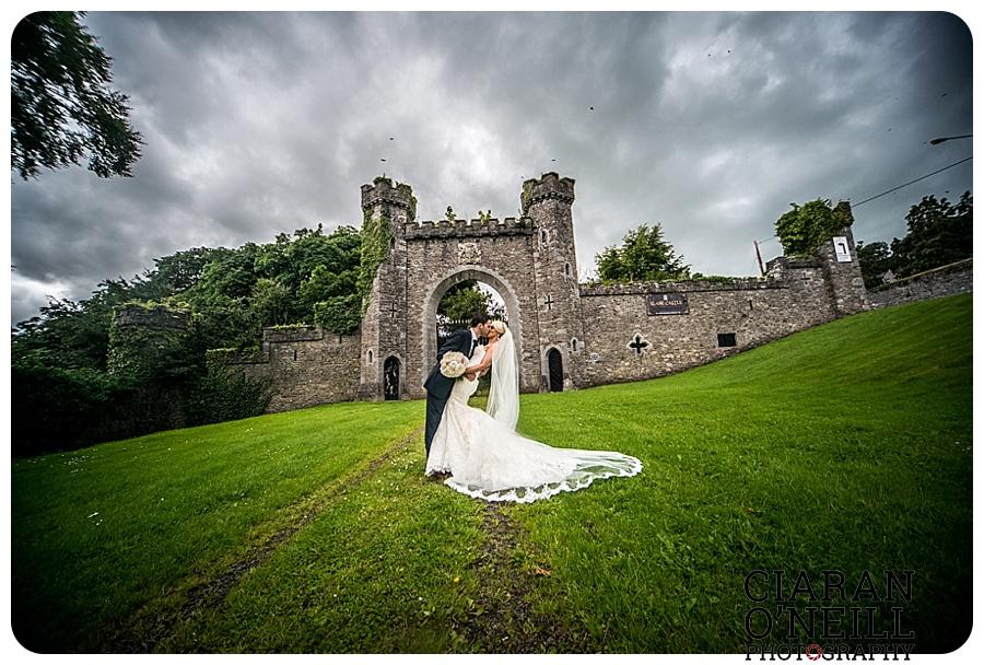 Kelly & Aodhan's wedding at Ballymagarvey Village by Ciaran O'Neill Photography 14