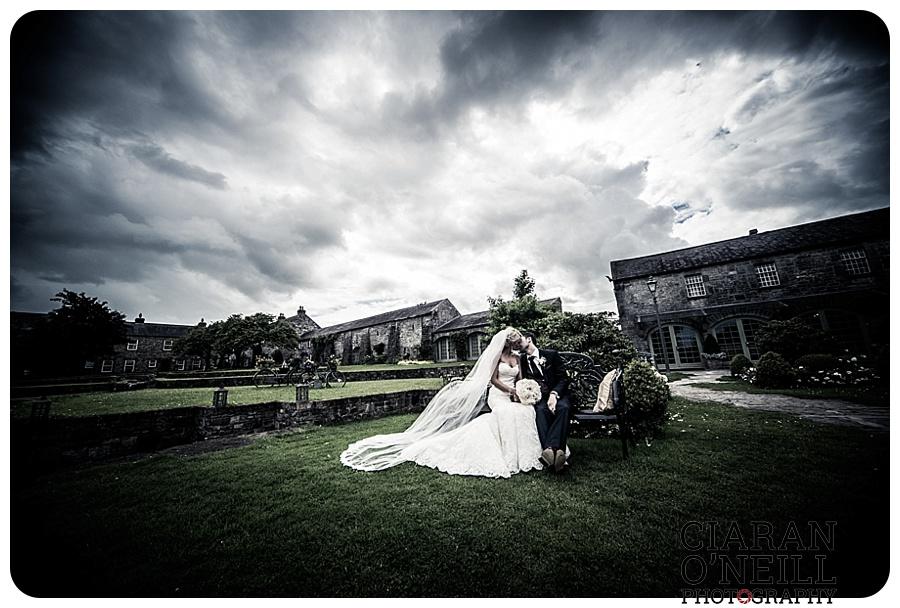 Kelly & Aodhan's wedding at Ballymagarvey Village by Ciaran O'Neill Photography 15