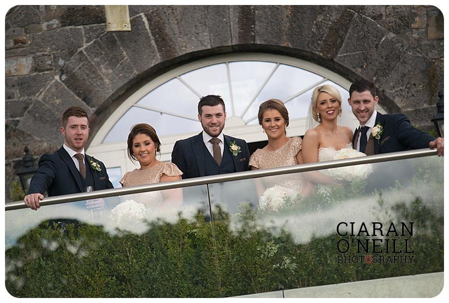 Kelly & Aodhan's wedding at Ballymagarvey Village by Ciaran O'Neill Photography 19
