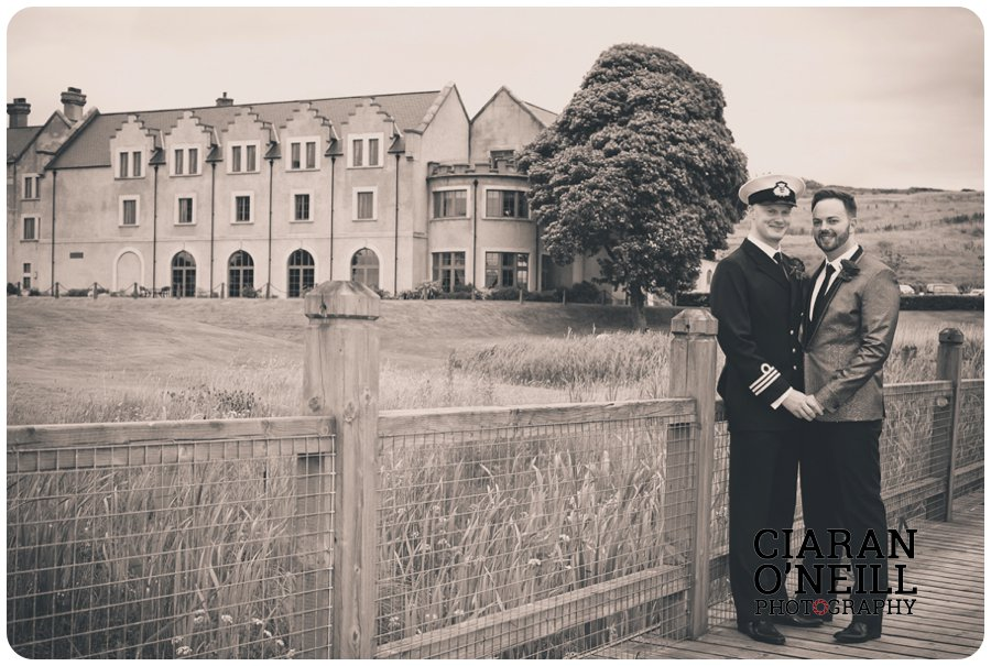 Paul & Philip's wedding at Lough Erne Resort by Ciaran O'Neill Photography 12