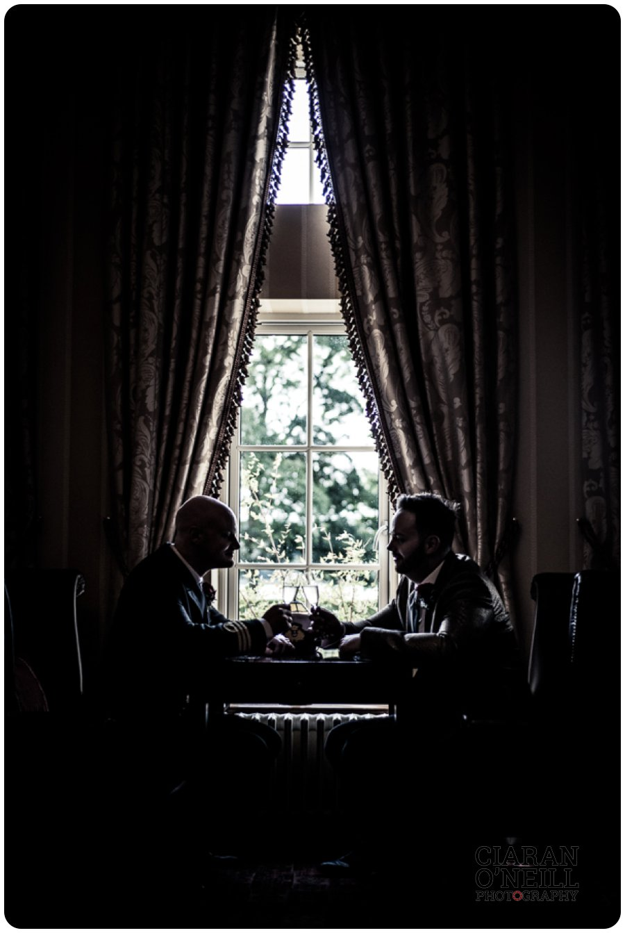 Paul & Philip's wedding at Lough Erne Resort by Ciaran O'Neill Photography 17