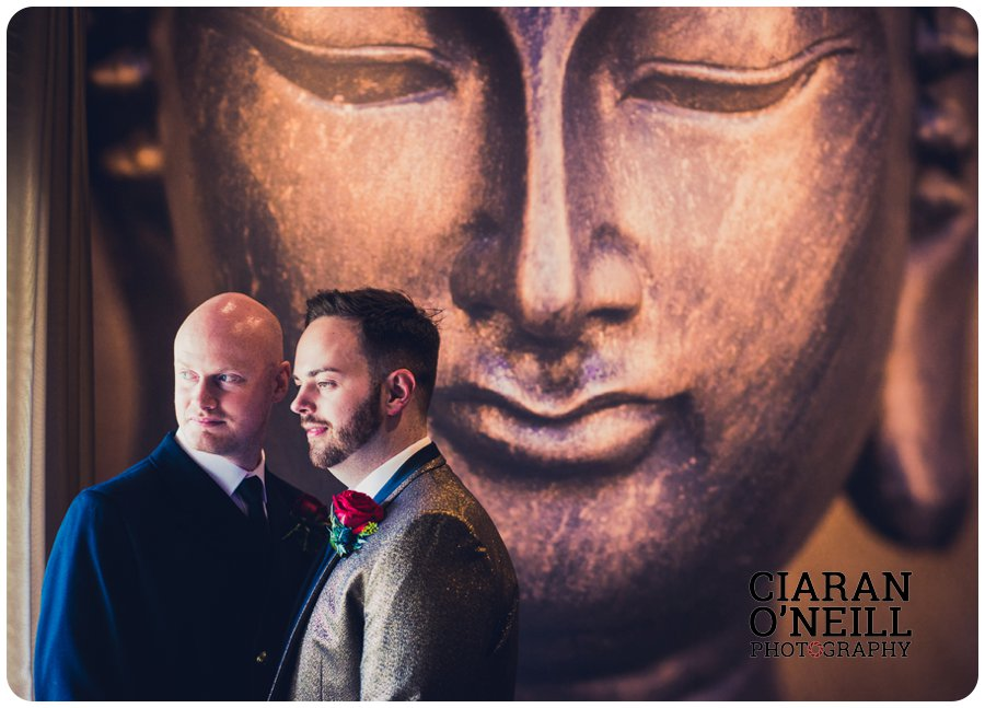 Paul & Philip's wedding at Lough Erne Resort by Ciaran O'Neill Photography 19