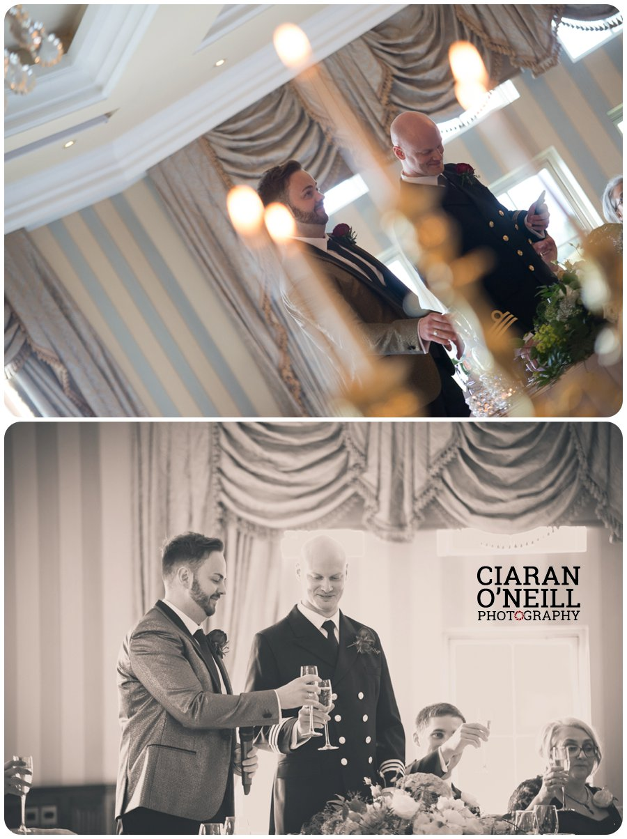 Paul & Philip's wedding at Lough Erne Resort by Ciaran O'Neill Photography 23