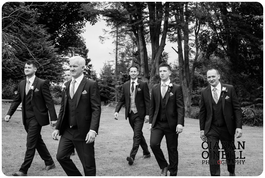 Tracey & Brian Og's wedding at Cabra Castle by Ciaran O'Neill Photography 01