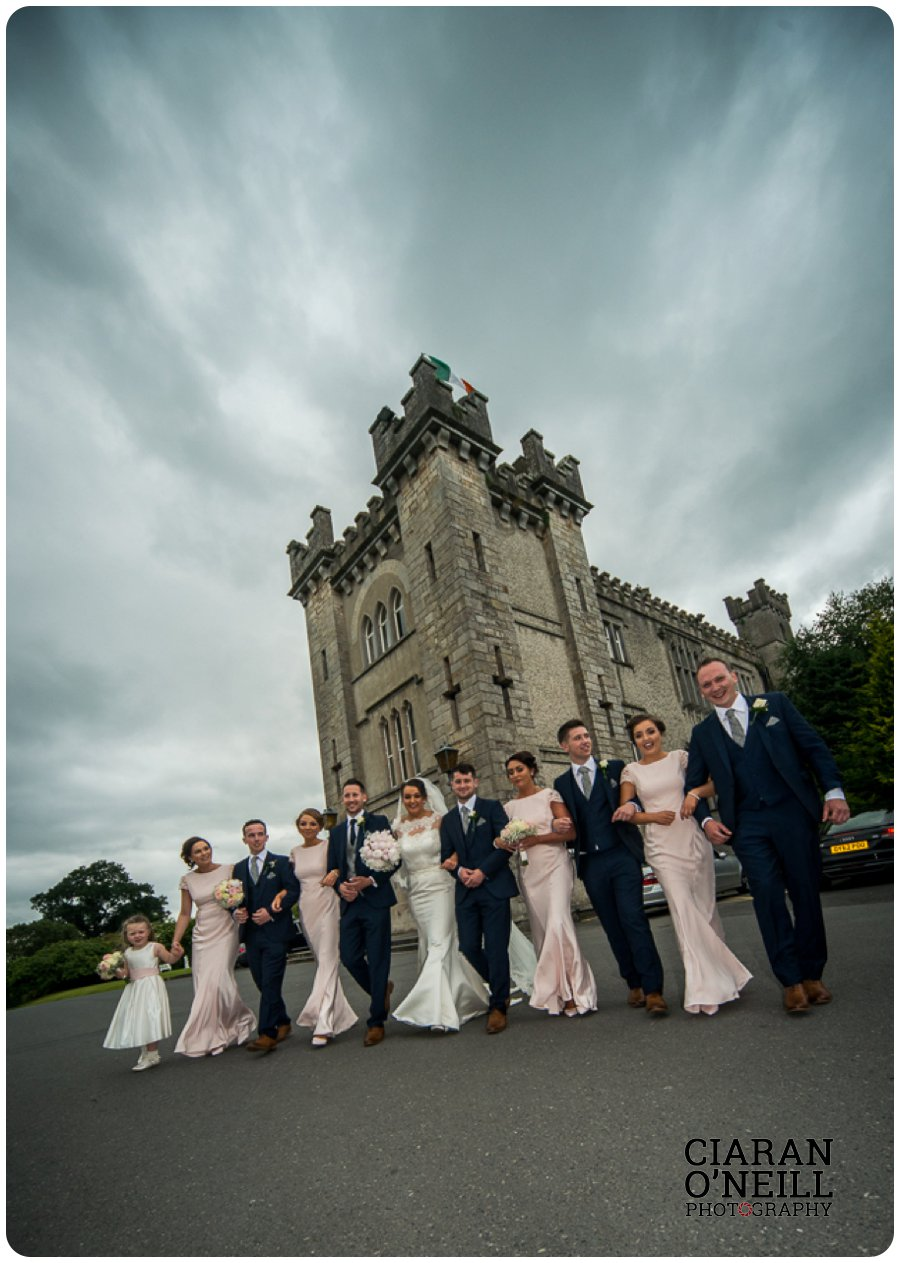 Tracey & Brian Og's wedding at Cabra Castle by Ciaran O'Neill Photography 21