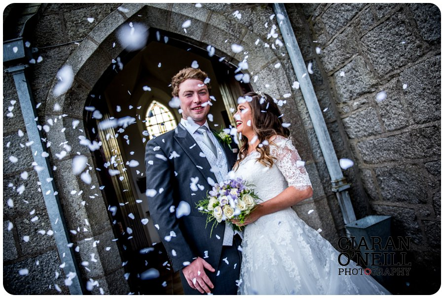 Abbie & Paul's wedding at Cabra Castle by Ciaran O'Neill Photography 12