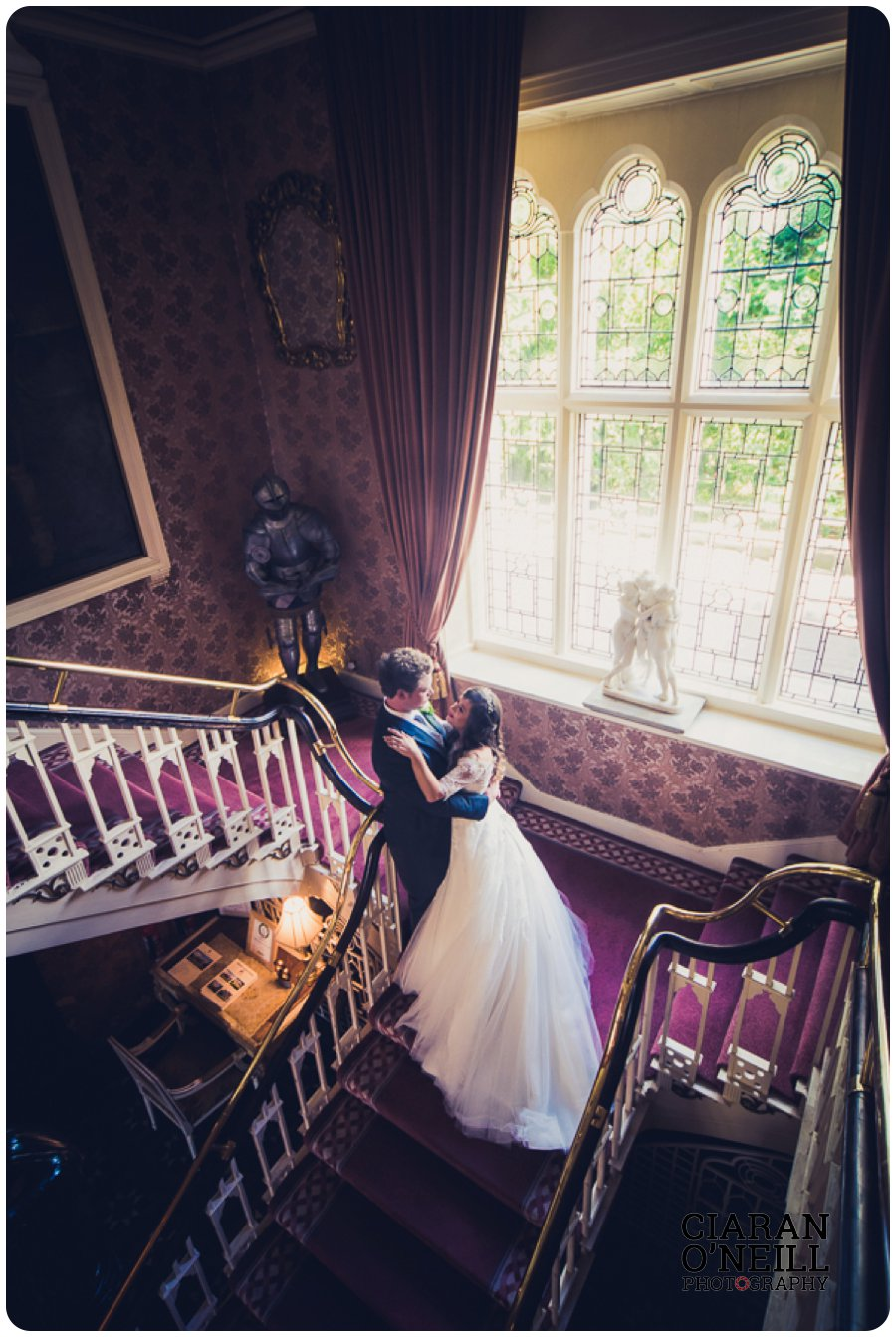 Abbie & Paul's wedding at Cabra Castle by Ciaran O'Neill Photography 17