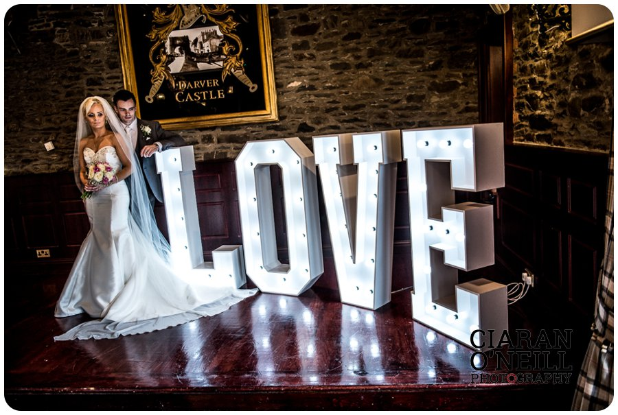 Clare & Mark's wedding at Darver Castle by Ciaran O'Neill Photography 18