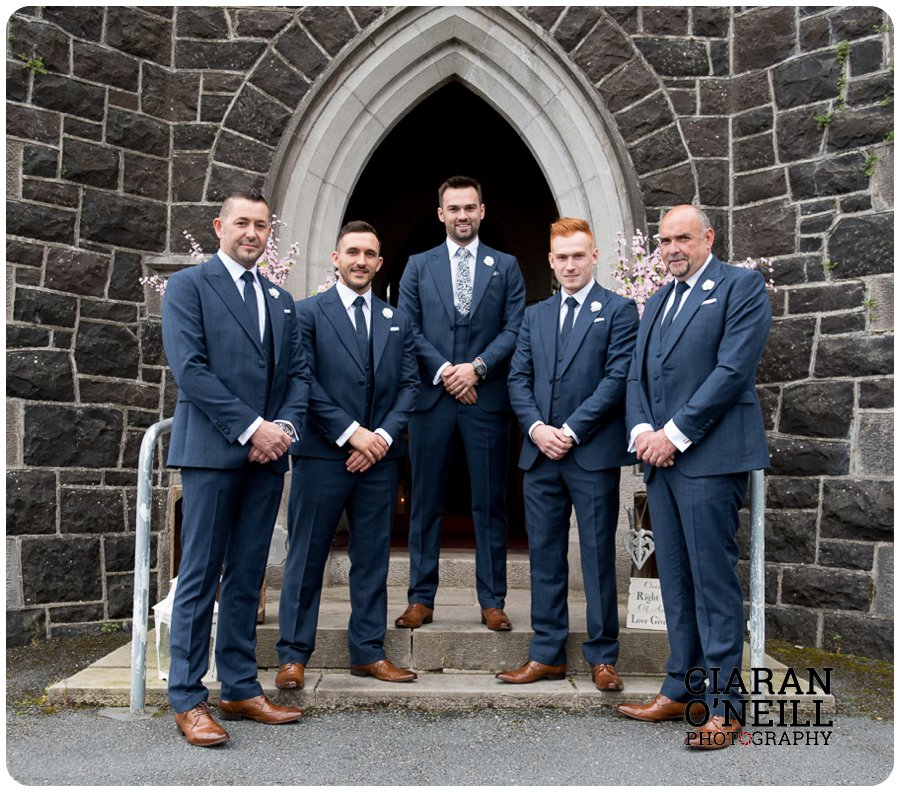 Emma & Adam's wedding at Cabra Castle by Ciaran O'Neill Photography 09