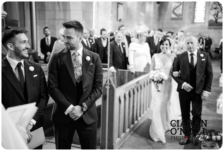 Emma & Adam's wedding at Cabra Castle by Ciaran O'Neill Photography 14
