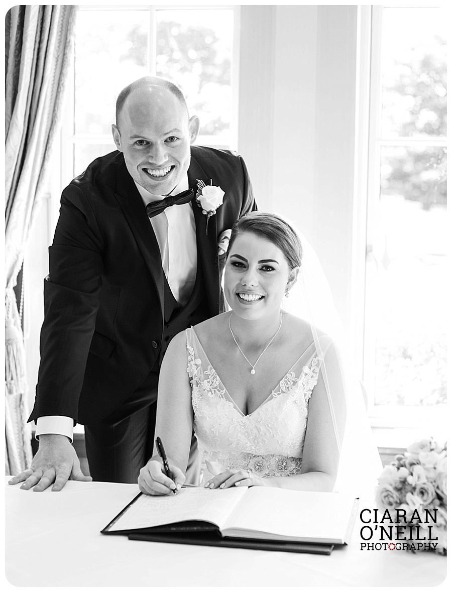 Hannah & Christopher's wedding at Lough Erne Resort & Spa by Ciaran O'Neill Photography 11