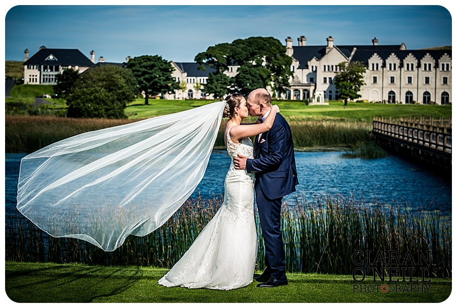 Hannah & Christopher's wedding at Lough Erne Resort & Spa by Ciaran O'Neill Photography 16