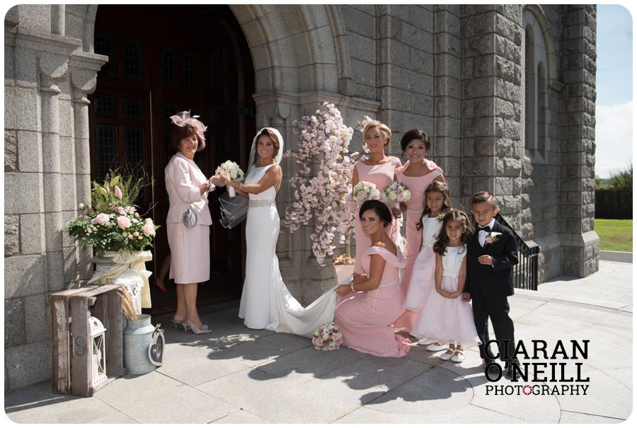 Jacqueline & Keith's wedding at Darver Castle by Ciaran O'Neill Photography 07