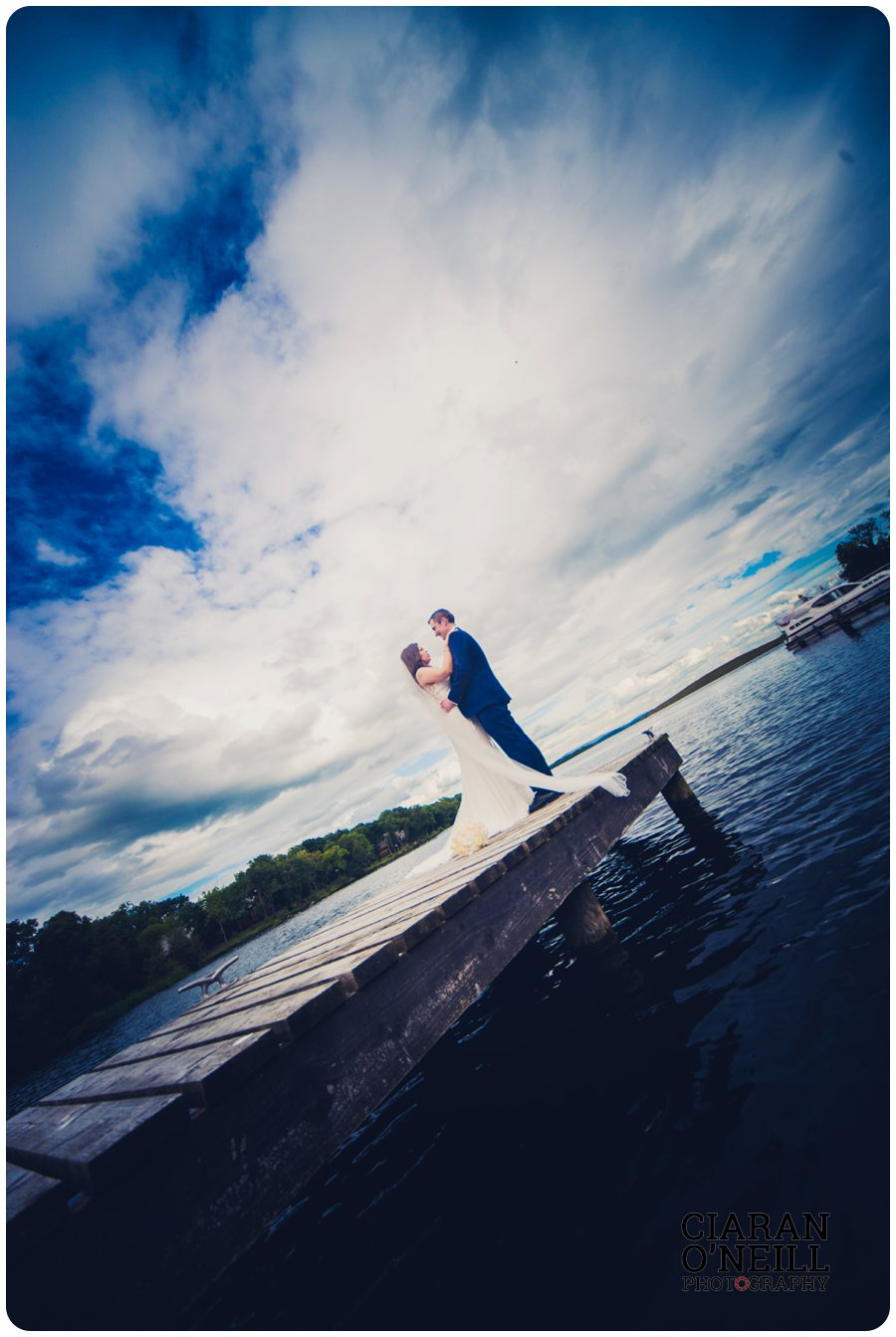 Kirsty & Chris's wedding at Lusty Beg Island by Ciaran O'Neill Photography 16