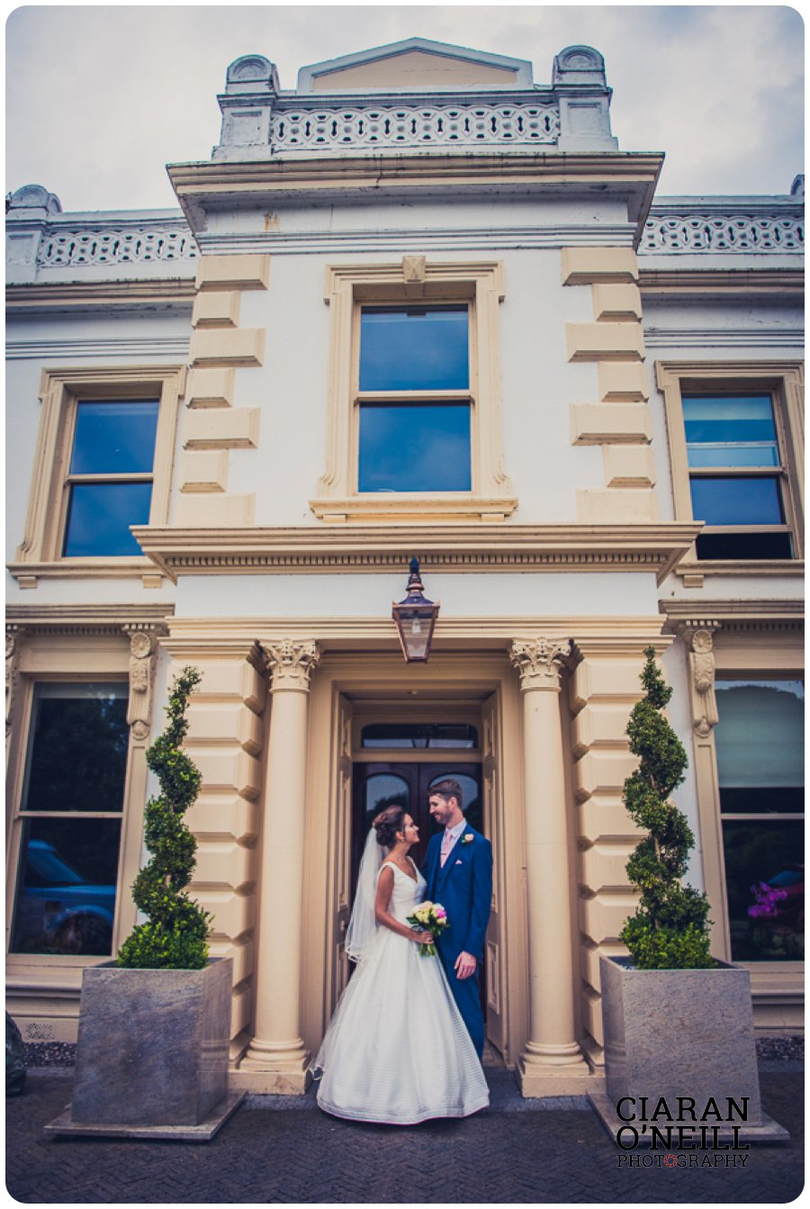 Kristina & Nigel's wedding at Galgorm Resort & Spa by Ciaran O'Neill Photography 14