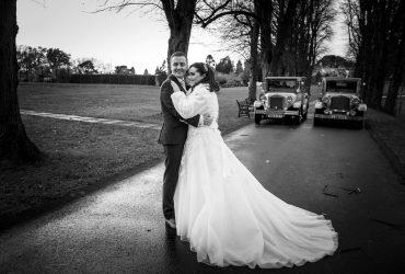 Christina & Gary's wedding at the Tullyglass Hotel