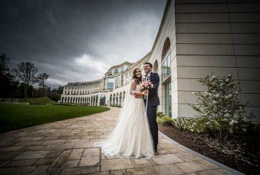 Rachel & Paul's wedding at Powerscourt Hotel