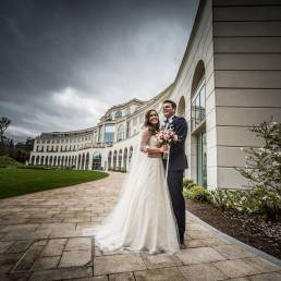 Rachel & Paul's wedding at Powerscourt Hotel by Ciaran O'Neill Photography