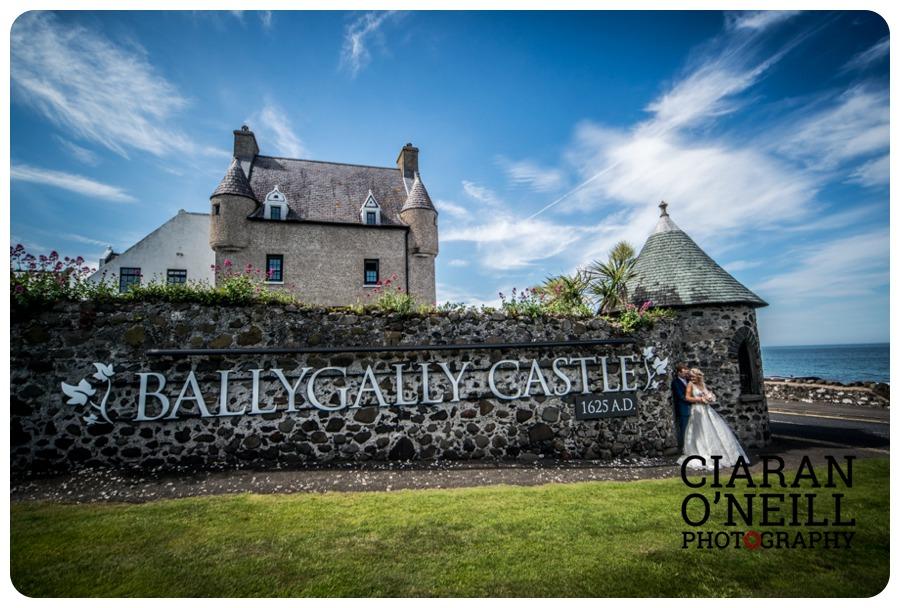 Sharon Dave S Wedding At Ballygally Castle Hotel By Ciaran O Neill