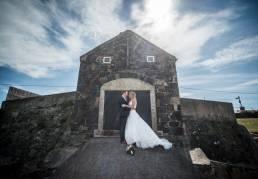 Sharon & Dave's wedding at Ballygally Castle Hotel by Ciaran O'Neill Photography