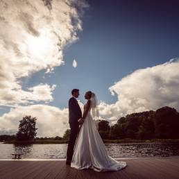 Colette & Ryan's wedding at the Killyhevlin Hotel by Ciaran O'Neill Photography