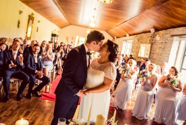 Claire & Alex's wedding at Clonabreany House