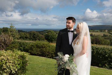 Emma Louise & Raymond's wedding in The Ivory Pavillion at Galgorm Castle