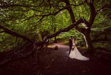 Lydia & Jason's wedding at Slieve Gullion Forest Park