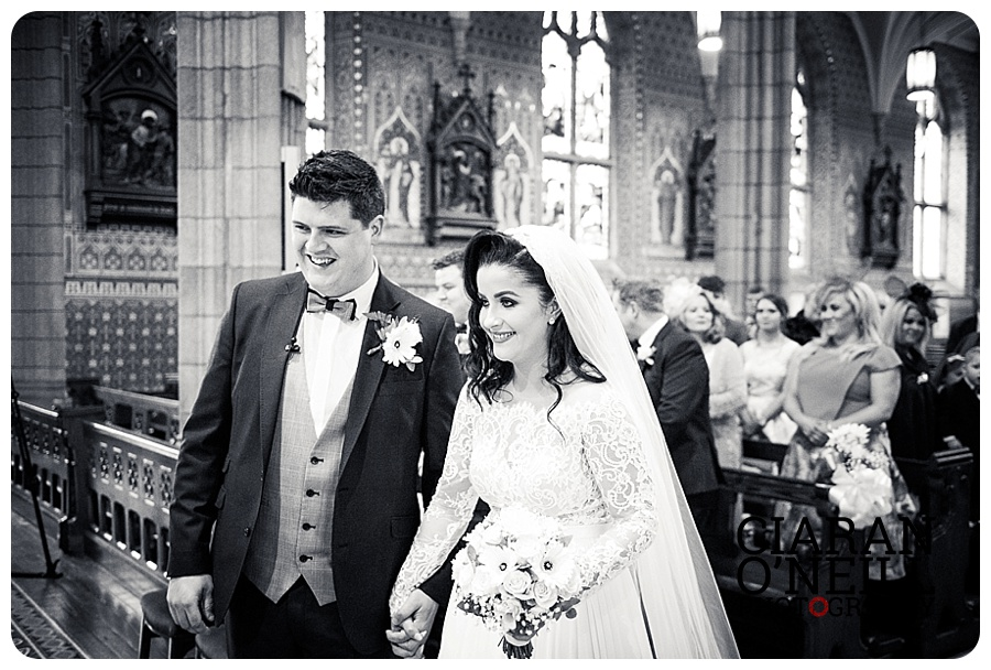 Amy & Michael's wedding at Ballymascanlon Hotel by Ciaran O'Neill Photography