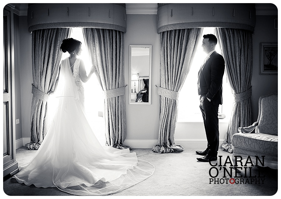 Charlene & Geoff's wedding at Ballymagarvey Village by Ciaran O'Neill Photography