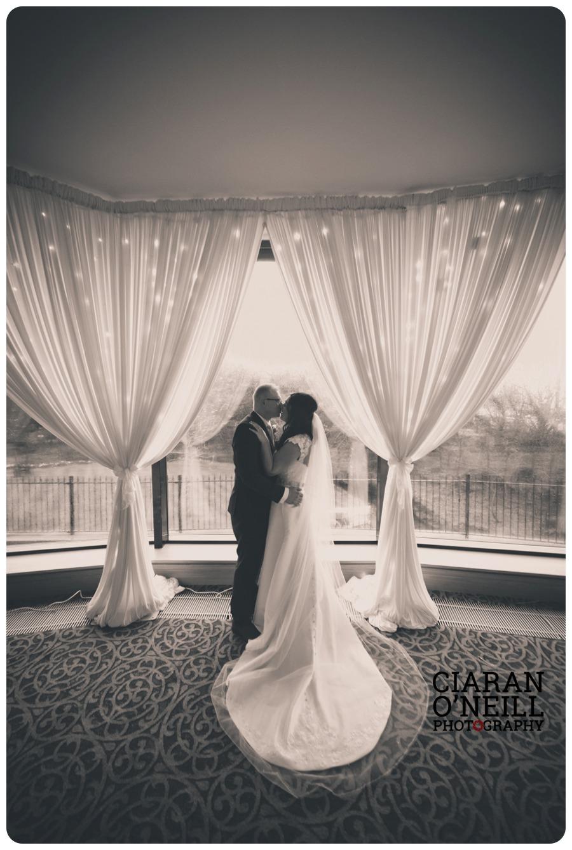 Christina & Frankie's wedding at Ballygally Castle by Ciaran O'Neill Photography