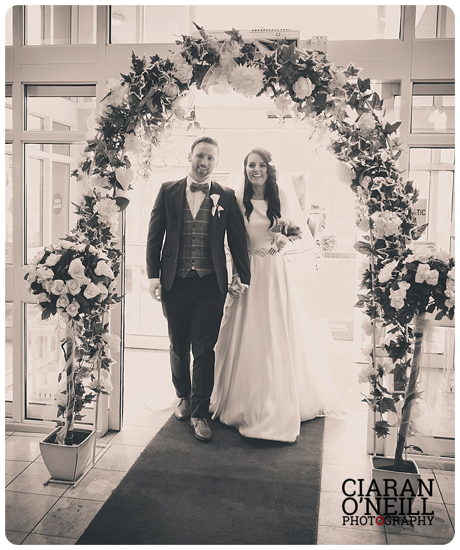 Danielle & Niall's wedding at Clanree Hotel by Ciaran O'Neill Photography