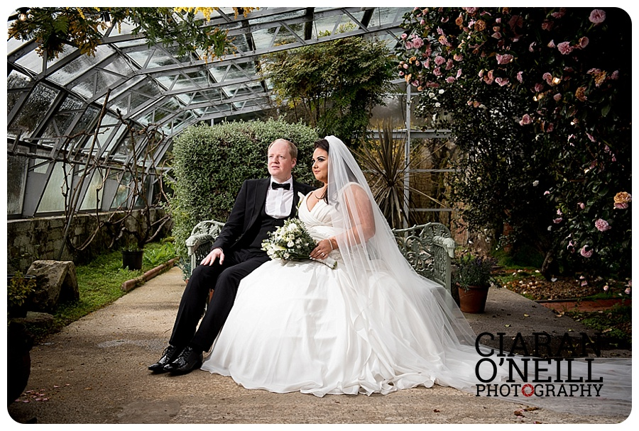 Whitney & Conor's wedding at Larchfield Estate by Ciaran O'Neill Photography