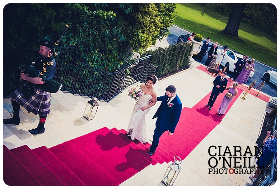 Patrice & Alan's wedding at Cabra Castle by Ciaran O'Neill Photography
