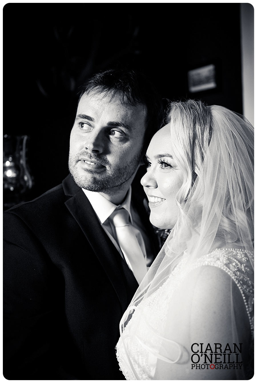 Tracy & Owen's wedding at Castle Bellingham by Ciaran O'Neill Photography