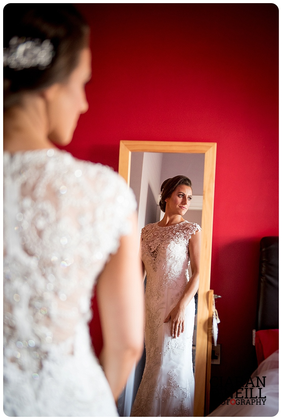 Clodagh & Declan's wedding at the Ballymascanlon Hotel by Ciaran O'Neill Photography
