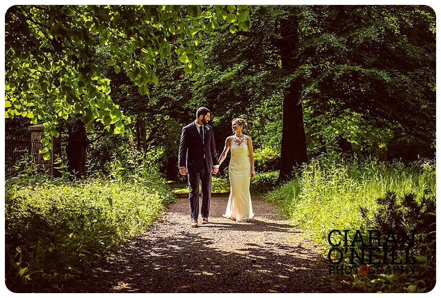 Laura & Zach's wedding at Castle Leslie by Ciaran O'Neill Photography