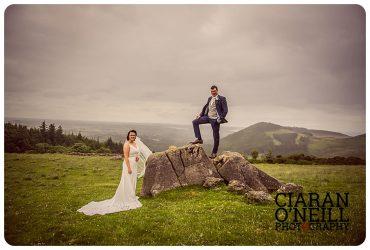 Lauren and Patrick's wedding at Darver Castle