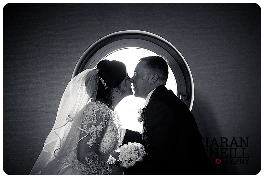 Danielle & Elliot's wedding at the Lough Shore Hotel by Ciaran O'Neill Photography