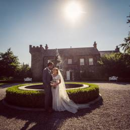 Susan & Andrew's wedding at Ballymagarvey Village by Ciaran O'Neill Photography