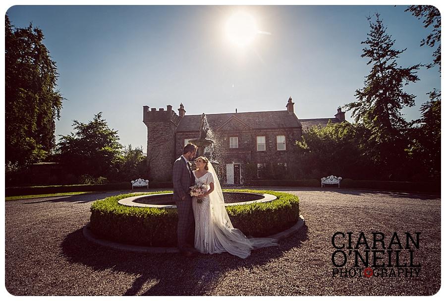 Susan & Andrew's wedding at Ballymagarvey Village by Ciaran O'Neill Photography