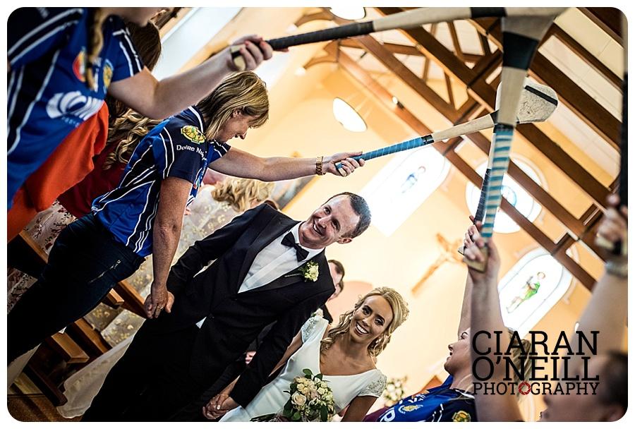 Ciara & Daniel's wedding at Castle Leslie Estate by Ciaran O'Neill Photography