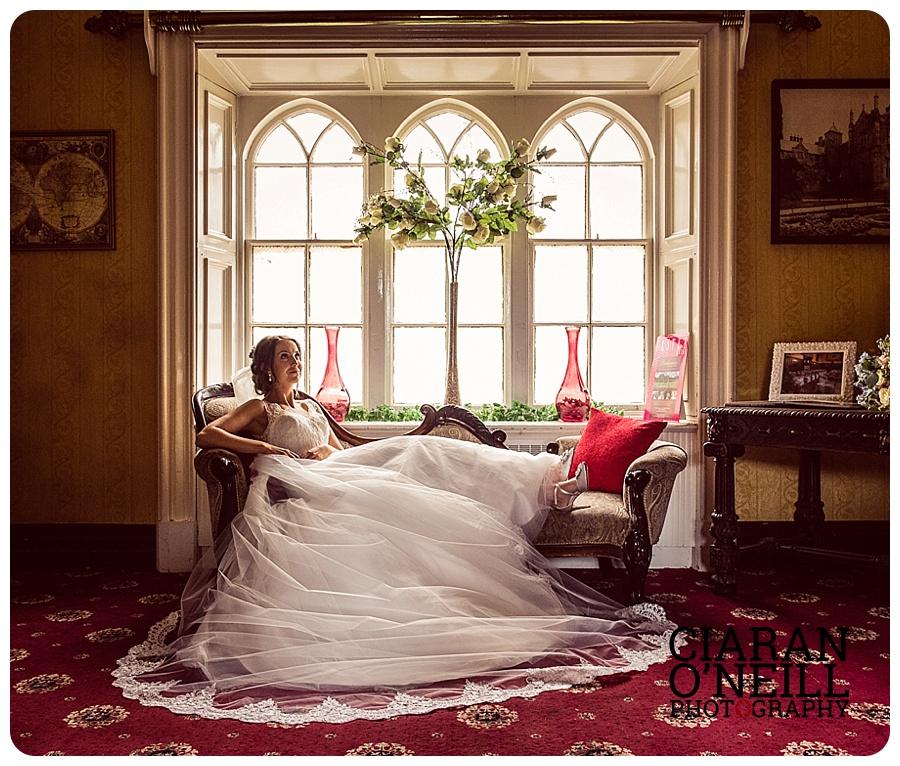 Ellen & Ryan's wedding at the Killyhevlin Hotel by Ciaran O'Neill Photography