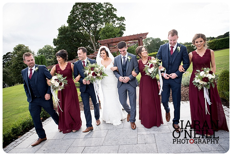 Teresa & Colin's wedding at Crover House Hotel by Ciaran O'Neill Photography