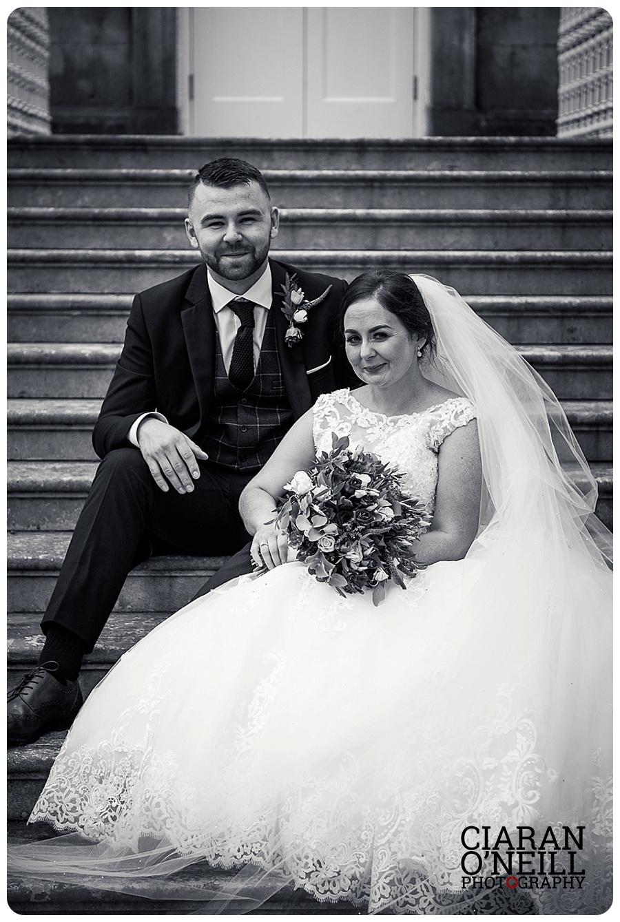 Danielle & Ryan's wedding at the Hillgrove Hotel by Ciaran O'Neill Photography