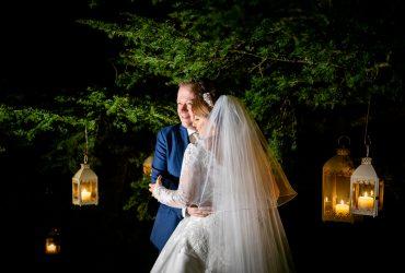 Andrea & Niall's wedding at Farnham Estate