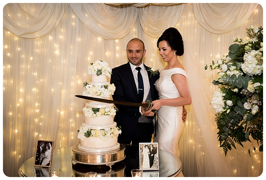 Emma & Patrick's wedding at Castle Leslie by Ciaran O'Neill Photography