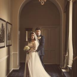 Ballymascanlon Hotel wedding couple photography